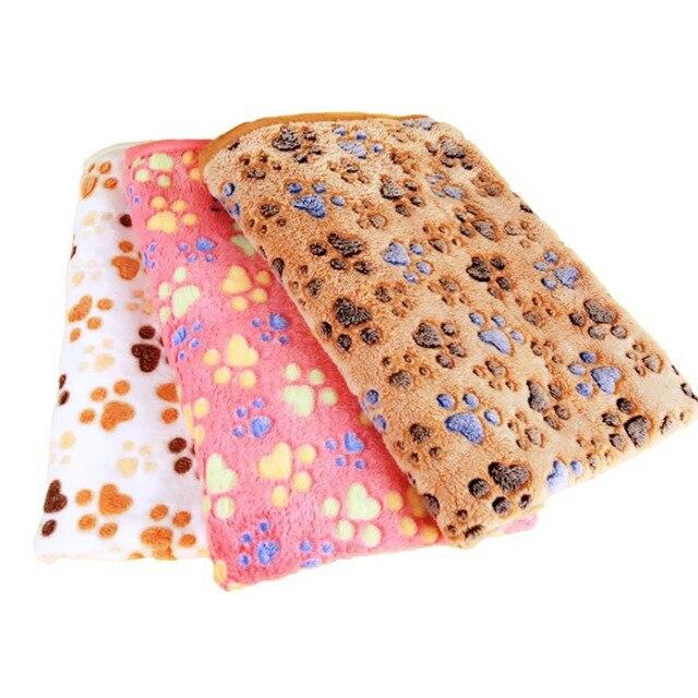 3 di colore Carino Floreale Pet Gatto di Sonno Caldo Zampa di Stampa Letti Coper