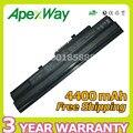 Apexway 4400 мАч 11.1 В батареи ноутбука BTY-S11 BTY-S12 для msi Wind U90 U100 U100X U210 для LG X110 для MEDION Akoya Mini E1210