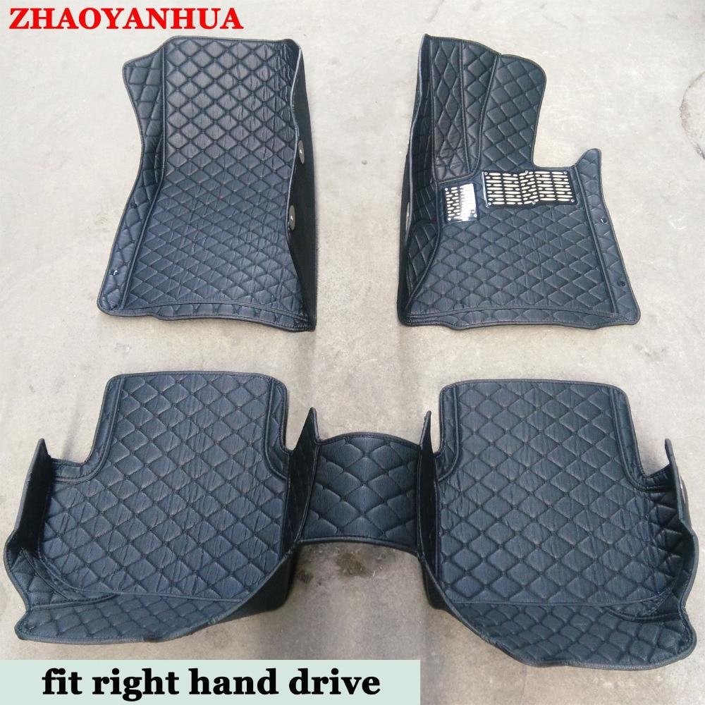 Rubber floor mats for glk350 - Custom Fit Right Hand Drive Car Floor Mats Cars Tyling Carpet For Mercedes Benz W211