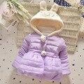 Baby Girls Coat Winter New Cute Children Hooded Jacket Kids Thicken Cotton Outerwear Cartoon Jackets For Girl