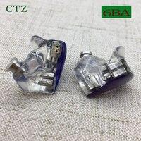 CTZ индивидуальный заказ 6BA балансный арматурный блок драйверы 0,78 мм 2 булавки в ухо наушники DJ шум для iPhone xiaomi