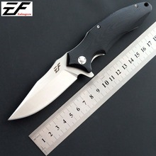 Eafengrow EF339 folding knife  D2 steel balde +G10 handle pocket ball bearing knives outdoor EDC tool