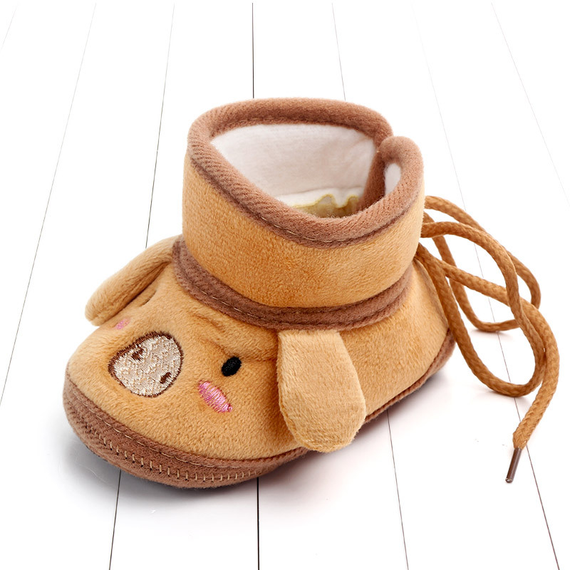 Indoor First Walkers Baby Shoes Cotton Anti-slip Booties Winter Wammer Baby Girl Boy Shoes Newborn Slippers Footwear Booties (13)