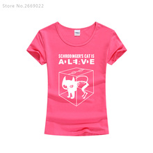 Schrodinger's Cat is Alive women's shirt / 20 Colors