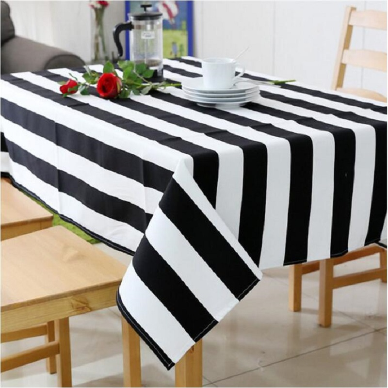 UBRUSH Modern tablecloth Cotton And Linen Table Cover <font><b>140*180</b></font> cm Waterproof Oilproof For Home Hotel Tablecloth Table Cover image