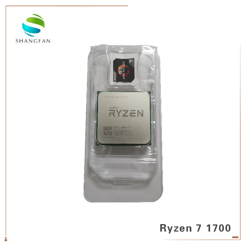 New AMD Ryzen 5 1400 R5 1400 3 2 GHz Quad-Core CPU Processor YD1400BBM4KAE  Socket AM4 with cooling cooler fan
