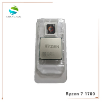 AMD Ryzen 7 1700 R7 1700 3.0 GHz Eight Core Sixteen Thread CPU Processor 65W YD1700BBM88AE Socket AM4