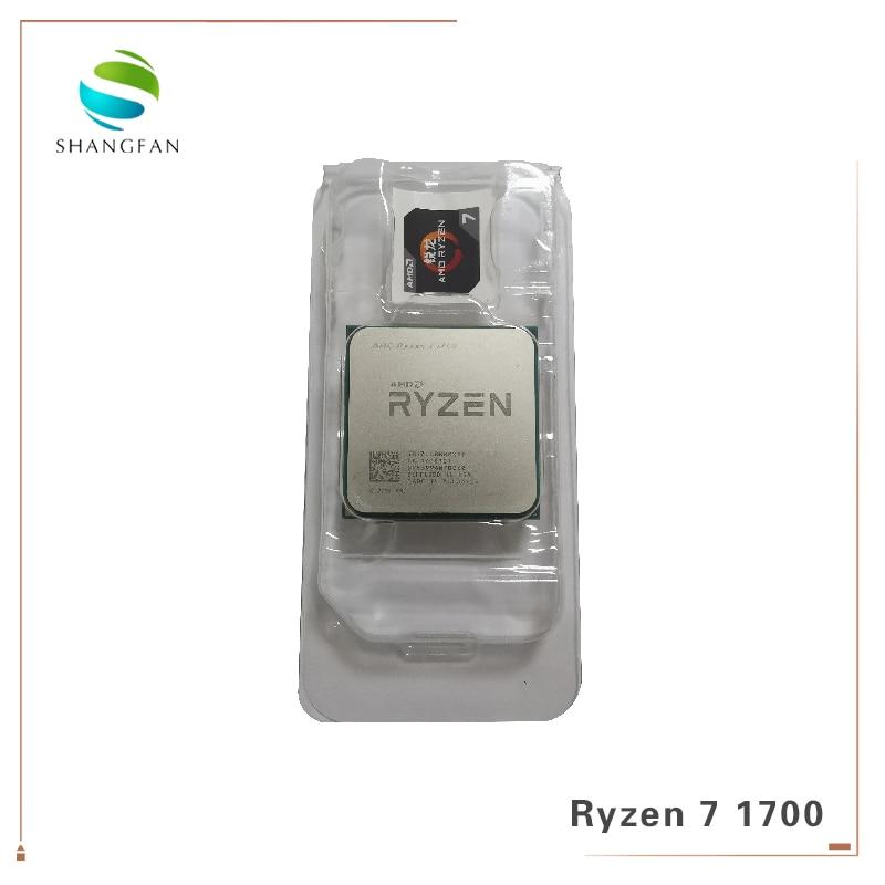 AMD Ryzen 7 1700 R7 1700 3.0 GHz Eight-Core Dezesseis-Thread 65W YD1700BBM88AE Processador CPU Soquete AM4