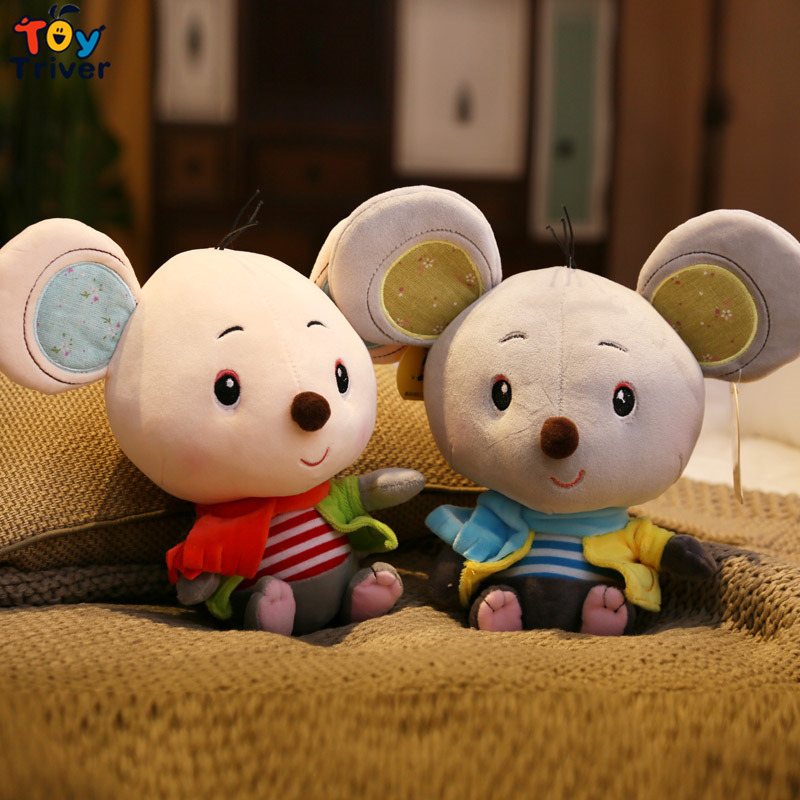 Plush Big Ear Mouse Toy Stuffed Animal Cartoon Rat Mice Baby Kids Children Birthday Gift Shop Home Decor Drop Shipping Triver резак донмет ргр142п 9 9