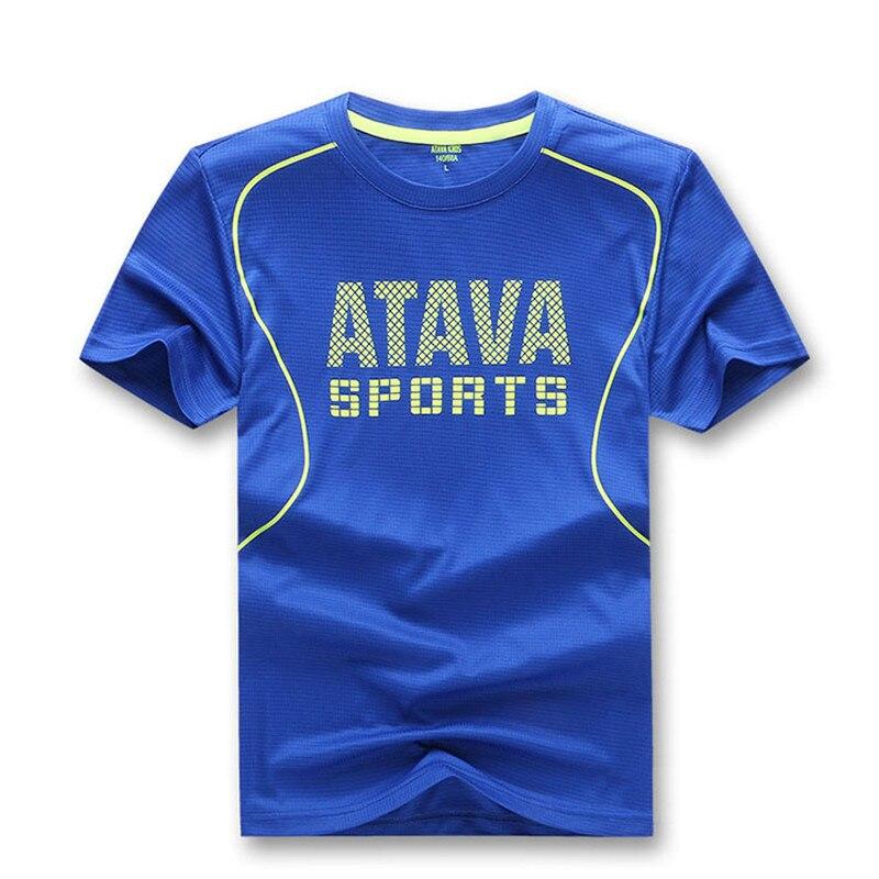 New 2019 Kids Short Sleeve Clothes Boys Quick T-shirt Summer Running T-shirt Dry For Children Teen Girls Tops T-shirt