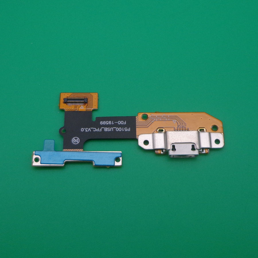 10pcs USB charging port plug flex cable for Lenovo YOGA Tab 3 YT3 X50L YT3 X50f