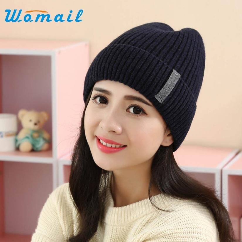 Skullies Beanies Winter Hat For Women Men Girl Baggy Ski Cap Braided Crochet Knit Warm Spring Autumn Hat Female WSep21 2017 new lace beanies hats for women skullies baggy cap autumn winter russia designer skullies