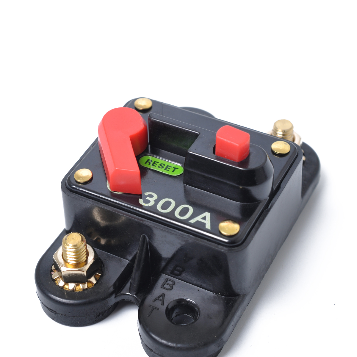 300A AMP Circuit Breaker 12-48V DC Boat Auto automatic Fuse Reset Waterproof