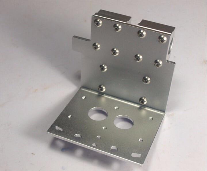 funssoReprap Prusa i3 3D printer accessory X axis dual nozzles hotend X Metal dual exturder carriage