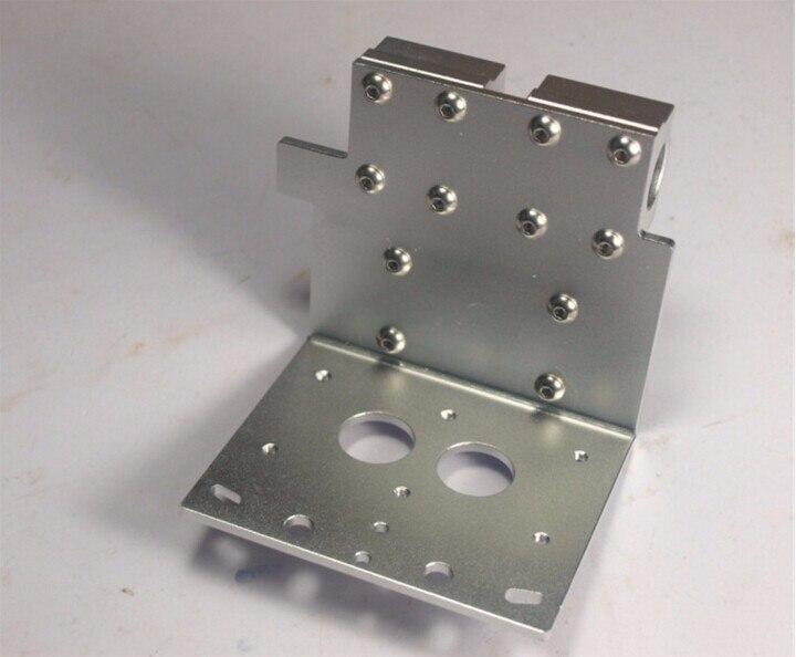 FunssoReprap Prusa i3 3D imprimante accessoire X axe double buses hotend X métal double exturder chariot aluminium-in 3D Printer Parts & Accessories from Ordinateur et bureautique on AliExpress - 11.11_Double 11_Singles' Day 1