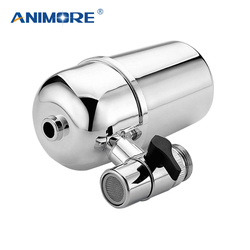 ANIMORE Household Water Purifier Water Filter for Household Kitchen Health Hi-Tech Activated Carbon Tap Faucet WF-01