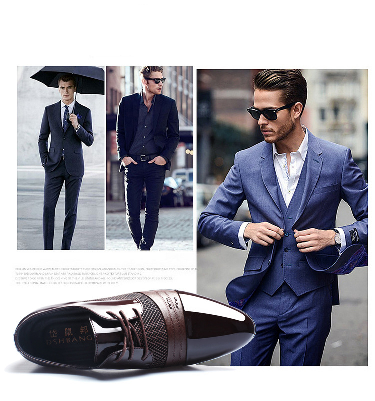 2019 classic oxford shoes for men black brown office patent leather shoes men wedding mens dress shoes herren schuhe sepatu pria