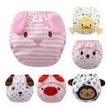 1 pçs/lote Fraldas fralda do bebê fraldas reutilizáveis calças de treinamento calcinhas roupa interior das crianças para o treinamento do toalete criança a-qdkbl011-1
