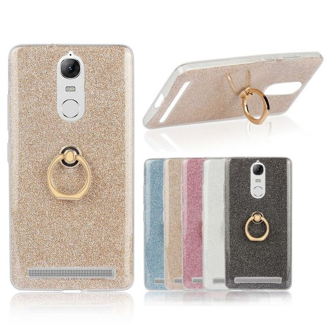 sports shoes adf3a b907f US $2.37 25% OFF|For Lenovo K5 Note Case Transparent Soft TPU Case Glitter  Metal Ring back cover For Lenovo Vibe K5 Note Pro Case-in Fitted Cases from  ...
