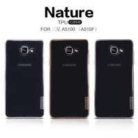 Original Nillkin Nature TPU Ultra Thin Transparent TPU Cover Case For Samsung Galaxy A5 2016 A5100