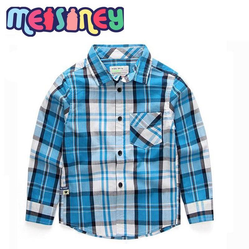 Shirt met lange mouwen en geruite - Kinderkleding - Foto 2