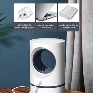 Image 5 - USB Photocatalytic Mosquito Killer Mosquito UV Trap Light Mute Bedroom To Help Sleep Products Save Energy