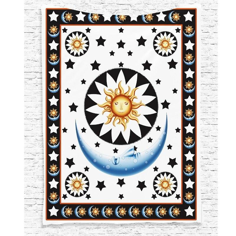 Indian Mandala Tapestry 145x200cm Tapestry Fabric Wall