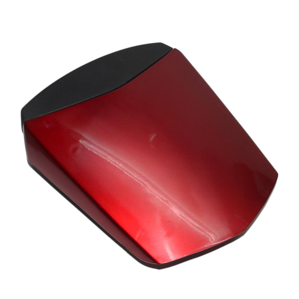 Red JFG RACING Motorcycle Rear Seat Cowl Passenger Pillion Fairing Tail Cover For Yamaha R6 2003-2005