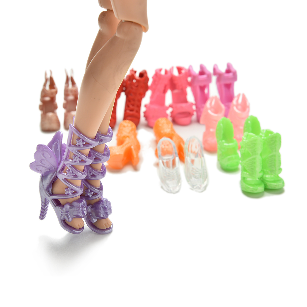 Wholesale-20PcsLot-Color-Random-Fashion-Fixed-Styles-Doll-Shoes-Bandage-Bow-High-Heel-Sandals-for-Barbie-Dolls-Accessories-Toys-2