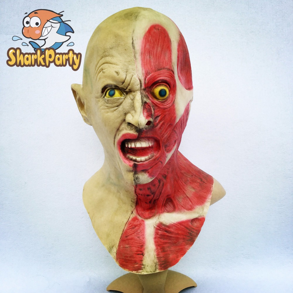 Compare Prices on Halloween Mask with Long Hair- Online Shopping ...