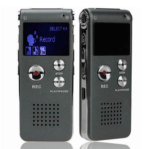 HIPERDEAL Dictaphone Audio-Player Voice-Recorder Digital High-Quality 8GB Rechargeable