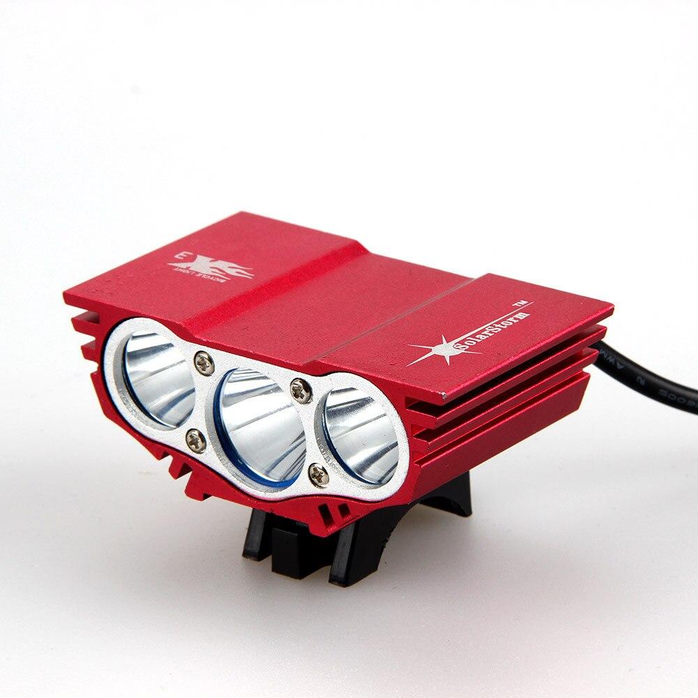 18650 12000mAh Battery 8000Lm 3x XM-L L2 LED Bike Light Headlight Cycling Lamp Bicycle Accessories+Rear Light+Charger 18000 lumens bike headlamp flashlight 9x cree xm l2 led bicycle light cycling helmet headlight 18650 battery pack charger