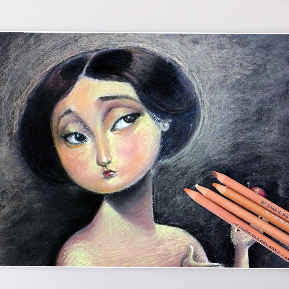 Professional Soft Pastel Pencil Set 5