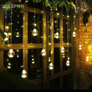 Best top outdoor light string ball 3 m brands zpaa curtain string fairy light backyard patio lights wedding decorative outdoor aloadofball Images