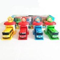 3pcs Set 1 43 Scale Model Tayo The Little Bus Children Miniature Bus Mini Plastic Babies