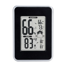 On sale portable modern electronic digital hygrometer thermometer with Current Humidity Temperature Indicator LCD for indoor outdoor