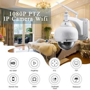 Image 2 - BESDER 1080P 960P Wireless Speed PTZ Wifi Camera Auto Zoom 5X 2.7 13.5mm ONVIF P2P Outdoor Waterproof IP Camera PTZ SD Card Slot