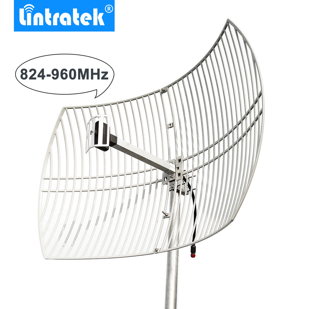 20dBi Grid Antenna 824-960MHz External Antenna Big Coverage For Mobile Phones Signal Repeater Booster Amplifier Outdoor Use /