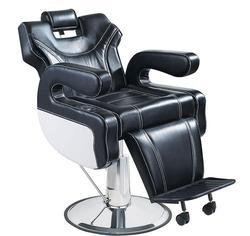 Fauteuil de coiffure pour salon de coiffure. Une chaise de barbier haut de gamme multifonctionnelle. Chaise de Massage