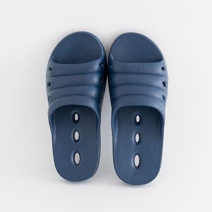 EA1 Nouvelles sandales et pantoufles d'été à l'intérieur et en plein air en plastique pantoufles accueil hommes et femmes salle de bains de bain slip accueil pantoufles