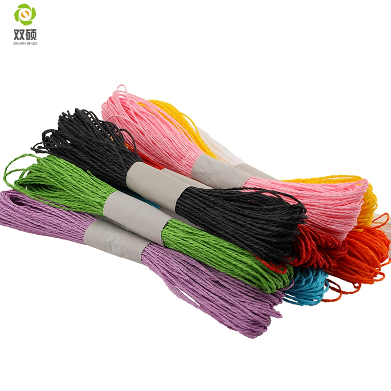 30M / Pcs צבע פעמיים מניות נייר חבל נייר - אומנויות, מלאכת יד ותפירה