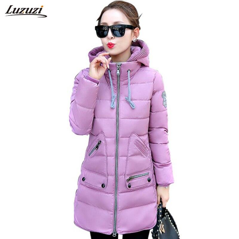 1 шт. плюс Размеры 7XL зимняя куртка Для женщин зимнее пальто парка с капюшоном Jaqueta Feminina Mujer Зимние куртки Feminino Z519