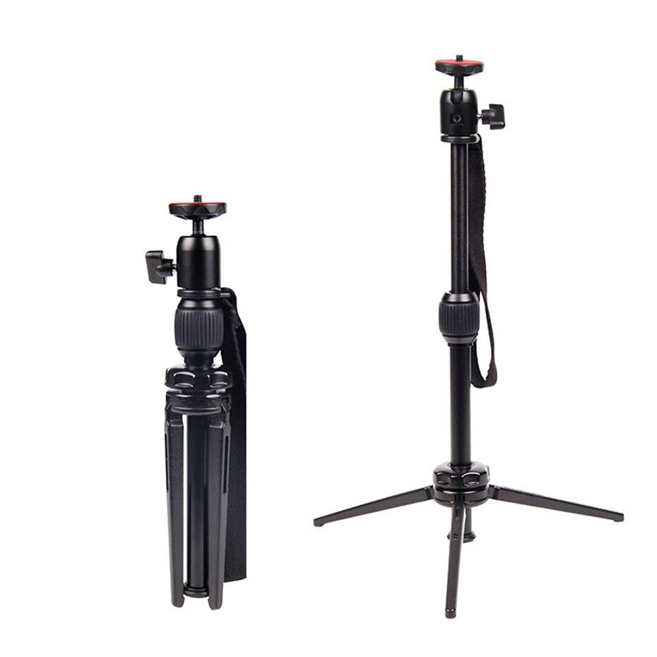 TiYiViRi Aluminum alloy Camera Phone Holder Tripod Bracket Stand Mount Protable mini gorillapod Tripod for Canon DSLR Camera