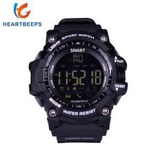 EX16 Sport Bluetooth Smart Watch Xwatch 5ATM IP67 Waterproof Smartwatch Pedometer Stopwatch Alarm Clock LONG TIME STANDBY