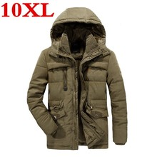 plus size 10XL 9XL 8XL 7XL Free Shipping Winter Clothes New Style Men Cotton Padded Clothes