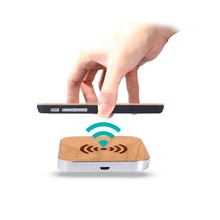 QuTiger Qi Wireless Charger Charging Pad Wooden Phone Wireless Charging For Apple iphone X 8 8 Plus For Samsung S8 Phone Charger