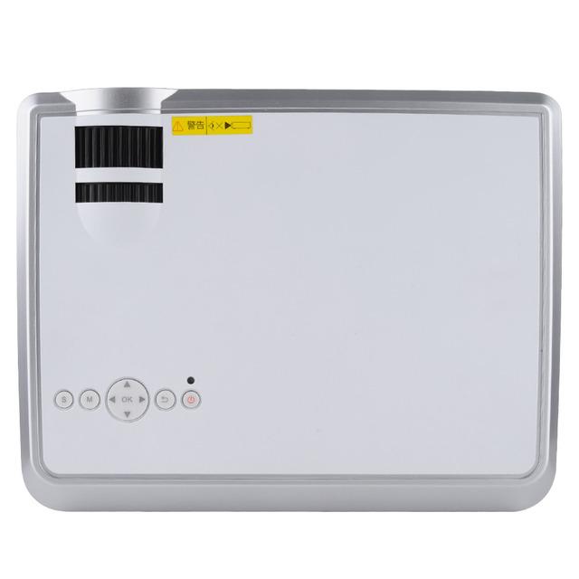 120 W LED33-02 2000 Lumens 1080 P HD LED Projetor de Vídeo Home Theater projetor 2 HDMI USB AV VGA Portas Branco DA UE EUA REINO UNIDO