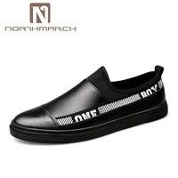 NORTHMARCH Мужская обувь из натуральной кожи модные кроссовки Закрытая обувь Для мужчин Мужская обувь Повседневное Вулканизированная обувь