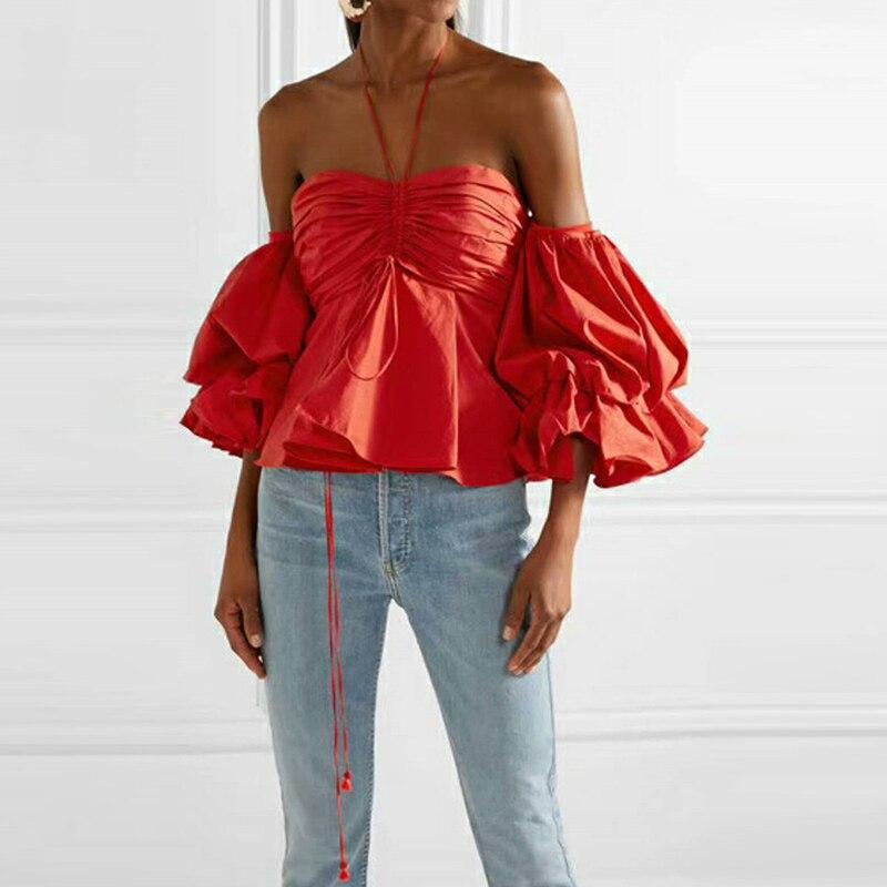 HIGH STREET New Fashion 2018 Designer Blouse Women's ...