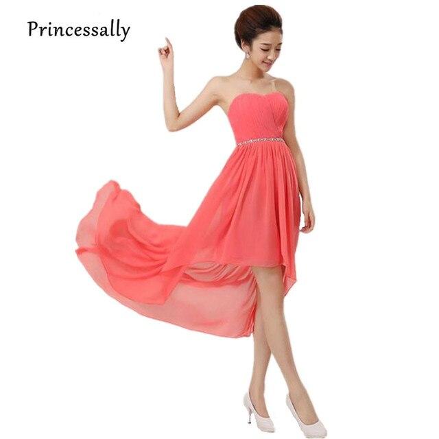 Aliexpress.com : Buy Cheap Chiffon Bridesmaid Dress Under 50 High ...